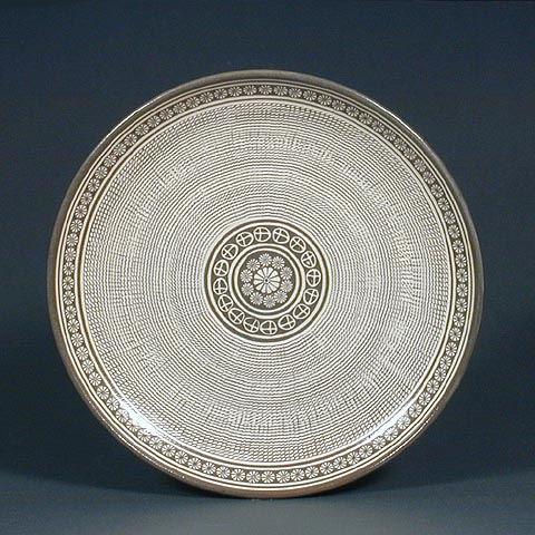 Rope Curtain Pattern Bun-cheong Plate
