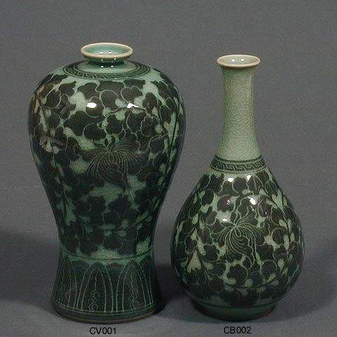 Dark Lotus Vase & Bottle
