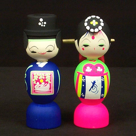 Traditional Wedding Dolls (large)