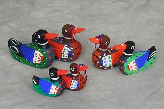 Miniature Colored Wedding Duck Sets
