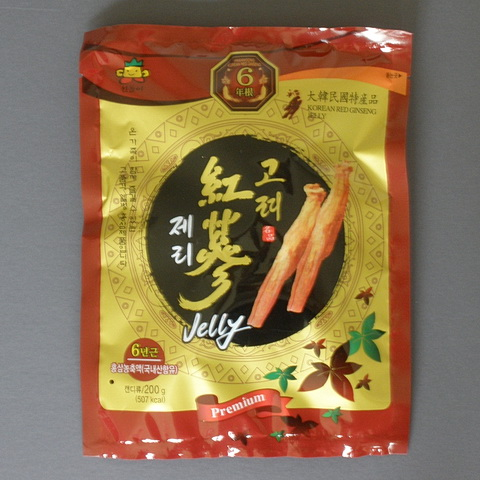 Korean Red Ginseng Jellies