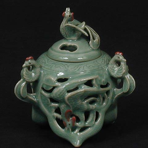 Chinese Phoenix Incense Burner