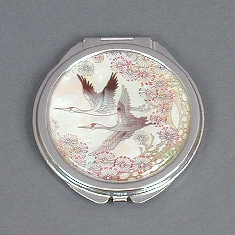 Pair of Cranes Mirror (small)