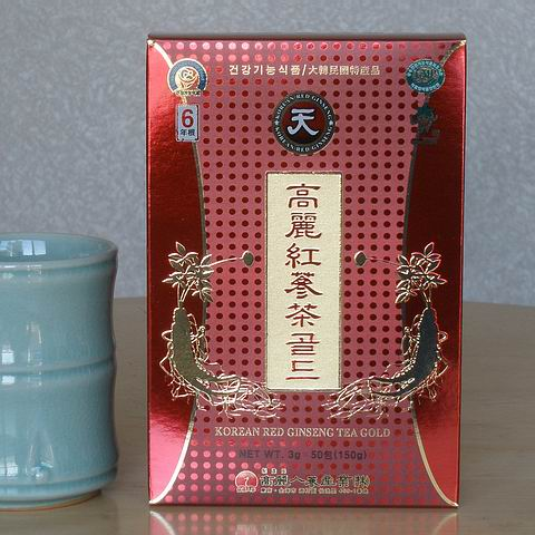 Korean Red Ginseng Tea Powder Gold